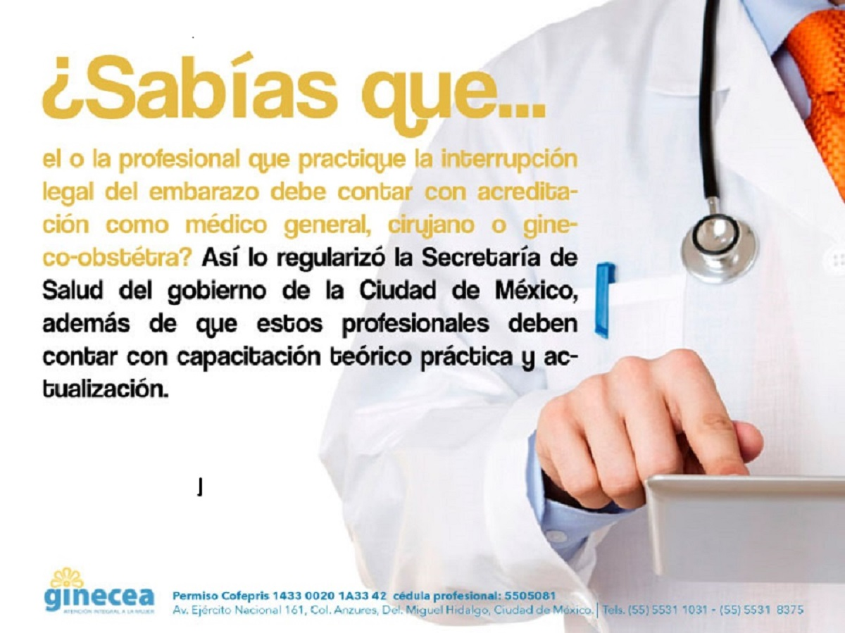 Ley de Salud interrupcion legal del embarazo