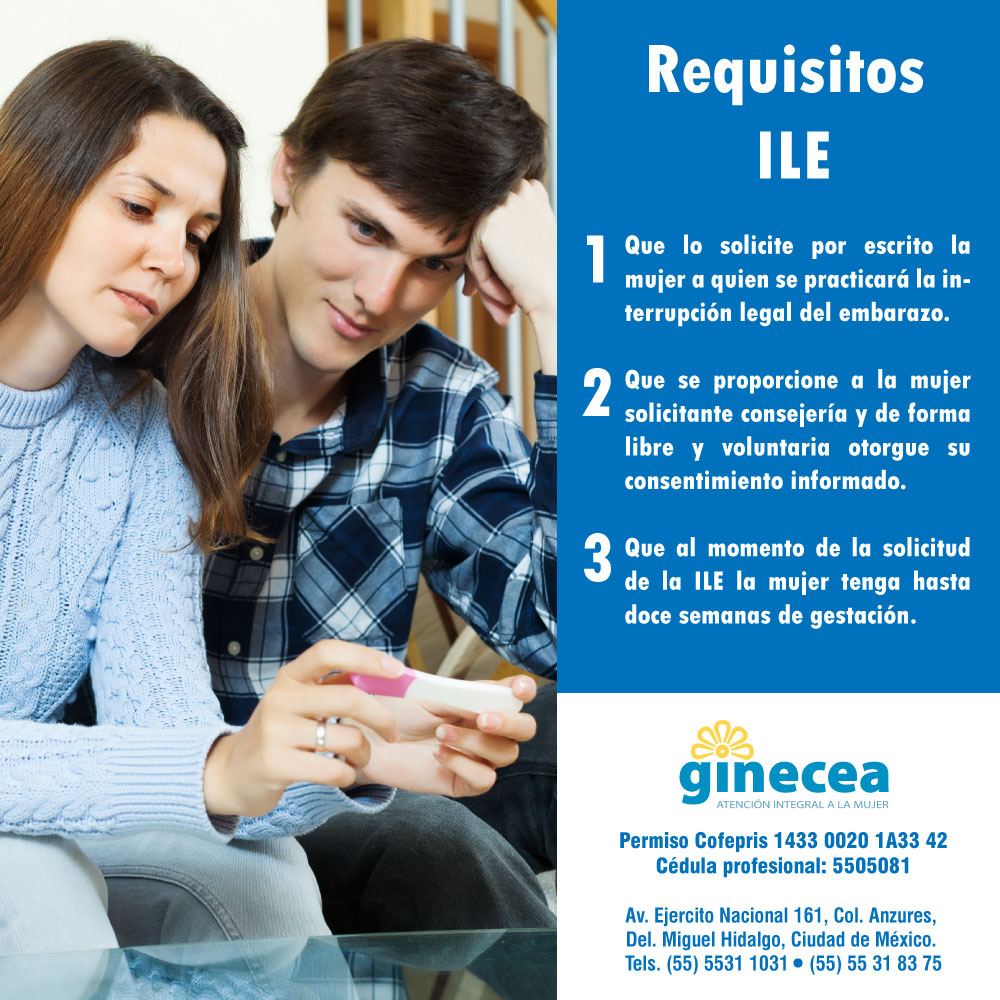 Ley de Interrupción Legal del Embarazo (ILE): Requisitos para ILE
