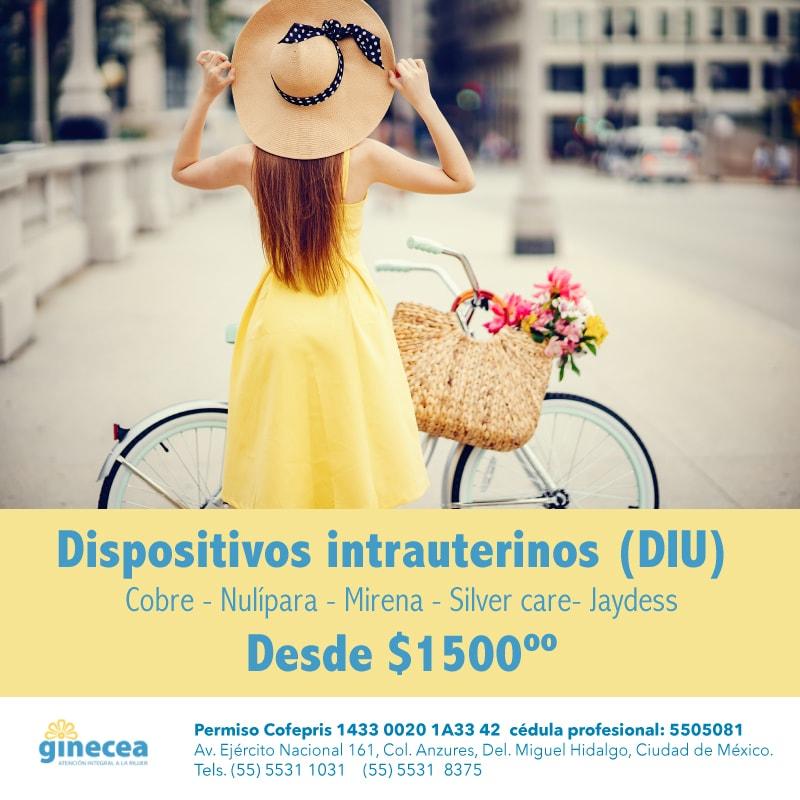 Servicios: Sabes cuales son los costos del DIU en Ginecea