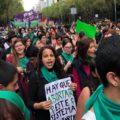 Marea Verde por la Despenaizacion del Aborto en Mexico
