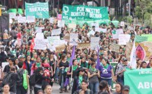 Gran Marcha Feminista a favor del Aborto Legal y Seguro