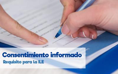 Consentimiento informado, requisito para la ILE