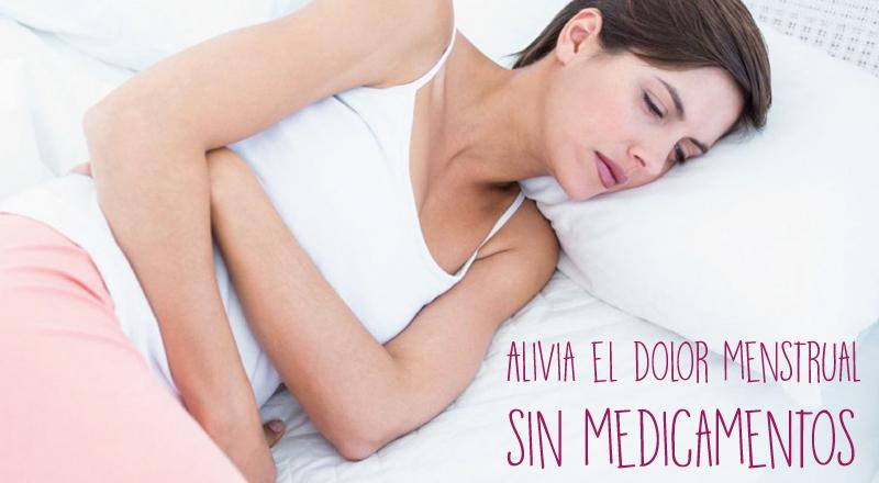 Alivia el dolor menstrual sin medicamentos