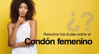 Resuelve tus dudas sobre el condón femenino