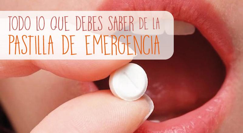 Pastilla de emergencia: todo lo que debes saber