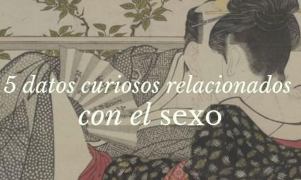 5 datos curiosos relacionados con el sexo