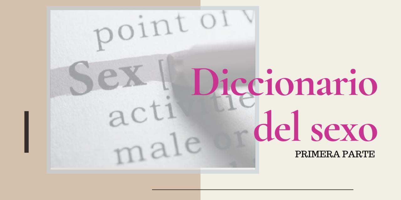 Diccionario del sexo