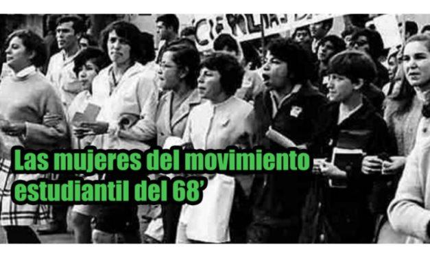 Las mujeres del movimiento estudiantil del 68'