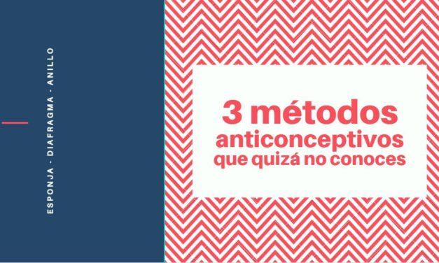 3 métodos anticonceptivos que quizá no conozcas