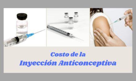 Costo y duración de la inyección anticonceptiva