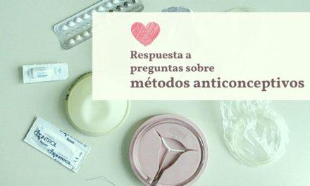 Respuesta a las preguntas más comunes sobre métodos anticonceptivos