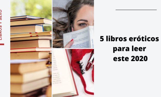 Los 5 libros eróticos  recomendados para leer en pareja o sola(o) durante este 2020