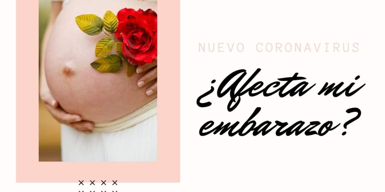 ¿El nuevo coronavirus afecta mi embarazo?