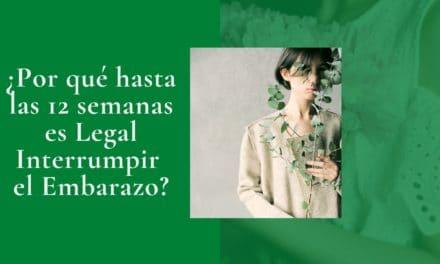 Porque 12 semanas es Legal Interrumpir el Embarazo en CDMX