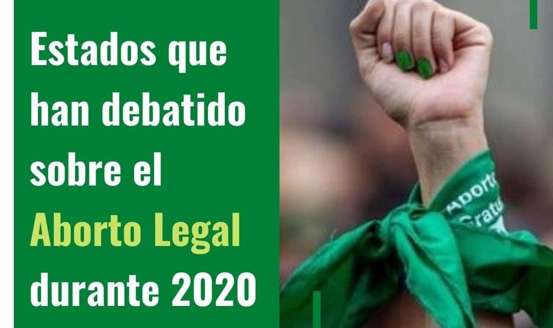 Tema sobre legalización del aborto llega al congreso de los Estados en Mexico durante 2020